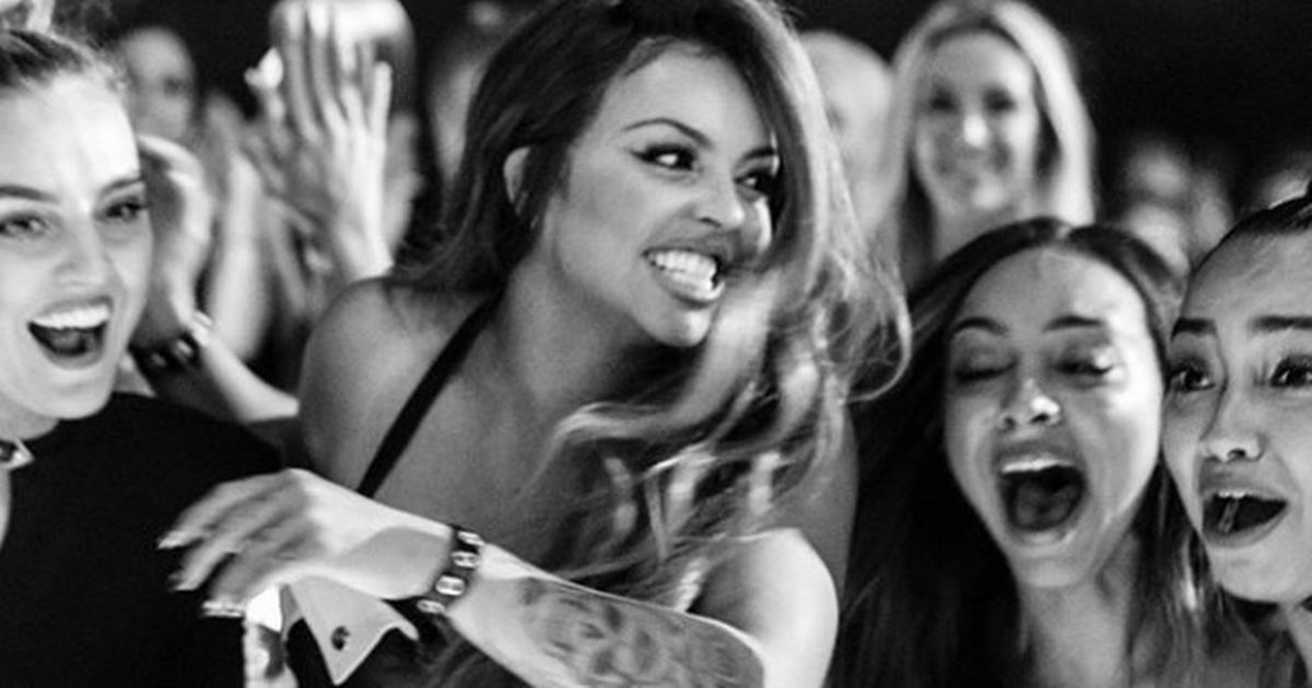 Little Mix's jaw-dropping throwback as old snaps of Perrie's 'twin' mum emerge