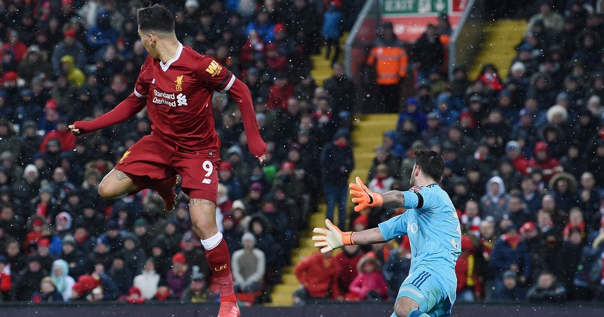 Eagle-eyed Liverpool fans all notice the same thing about Firmino's goal