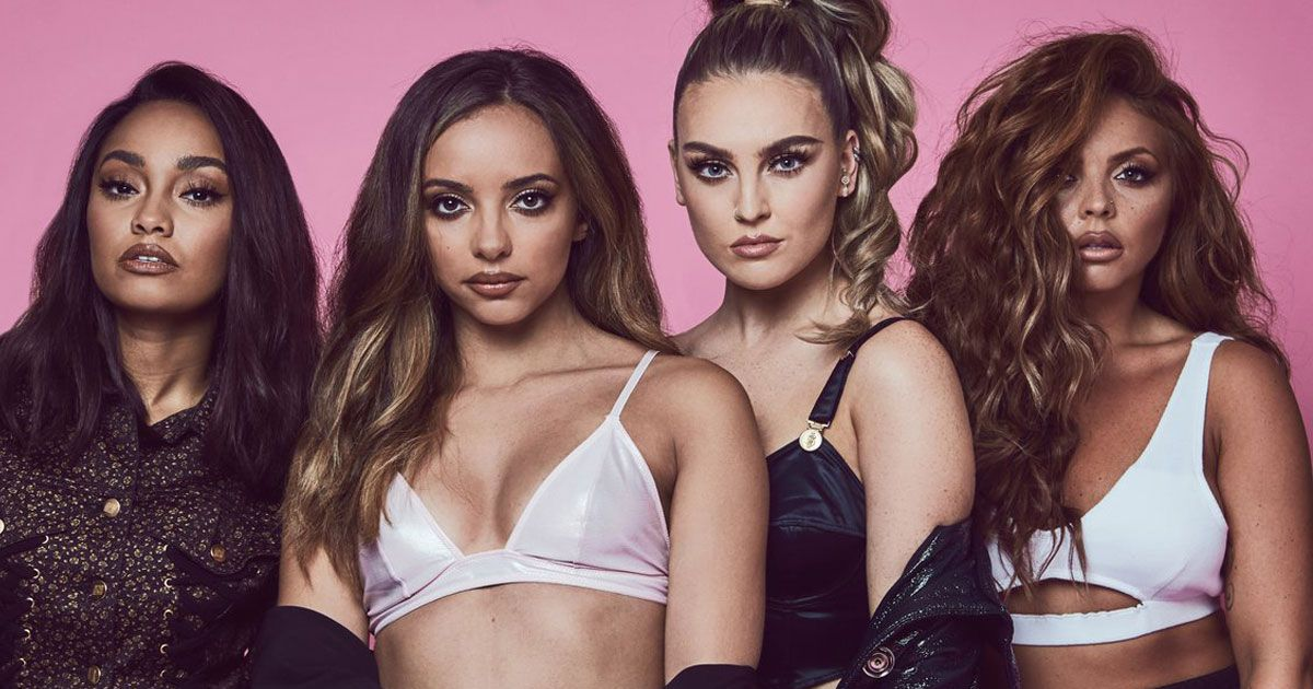 Little Mix offer the gift of music to celebrate International Women's Day