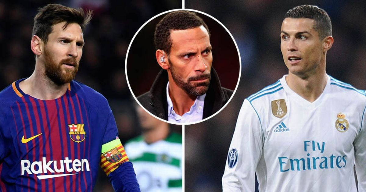 Ferdinand perfectly explains major difference between Messi and Ronaldo