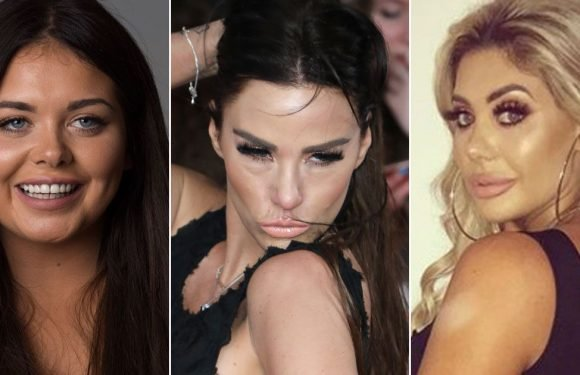 Ever-changing celebrity faces – from Scarlett Moffatt to Katie Price