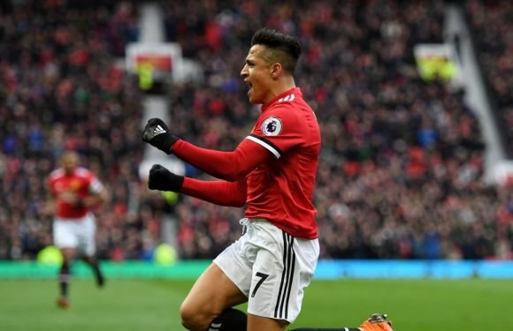 Man United fans are using Sanchez's celebration to troll Arsenal