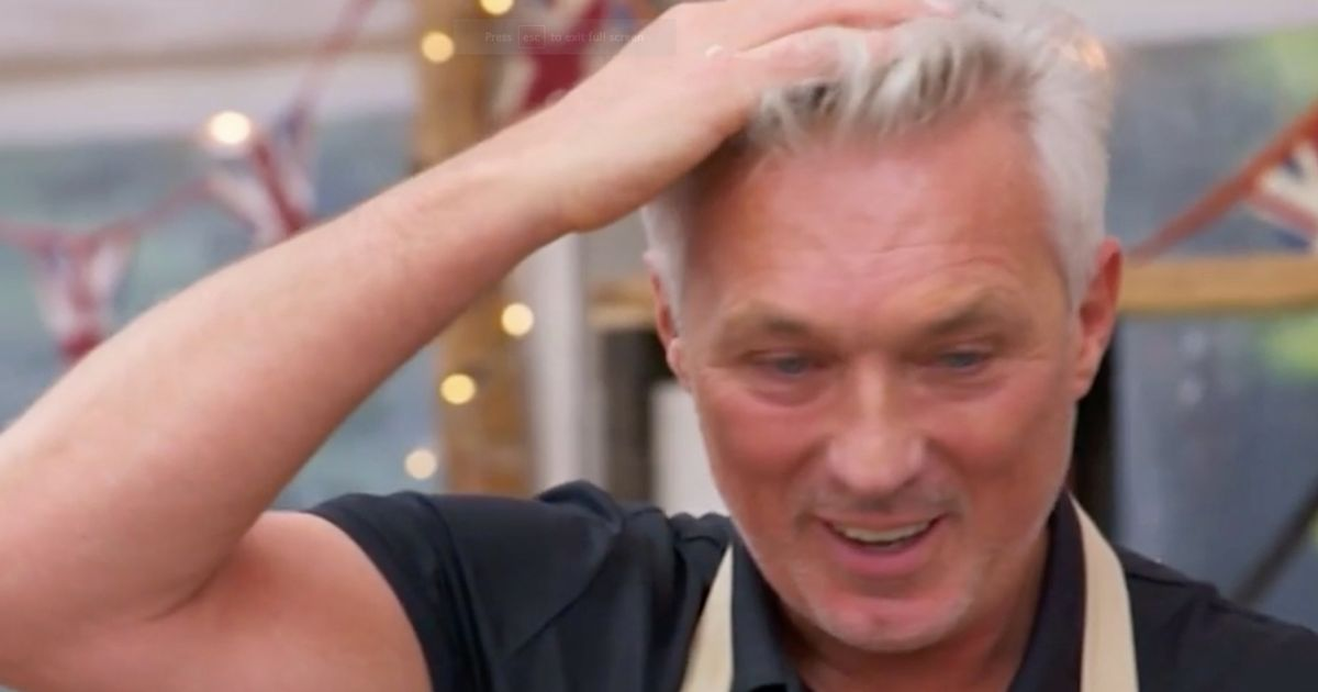 Bake Off fans in hysterics over Martin Kemp's epic cooking fail