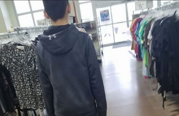 Boy left in tears after mum teaches him brutal lesson about being a clothes snob