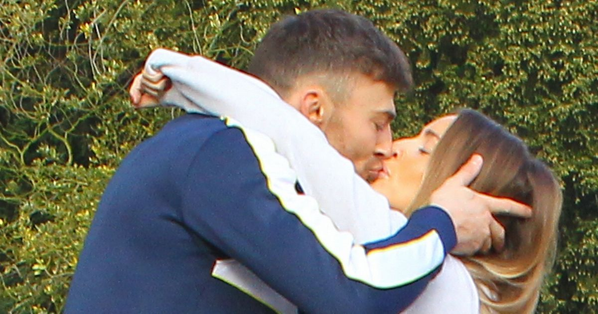 Jake Quickenden shares passionate kiss with Danielle Fogarty ahead of DOI final