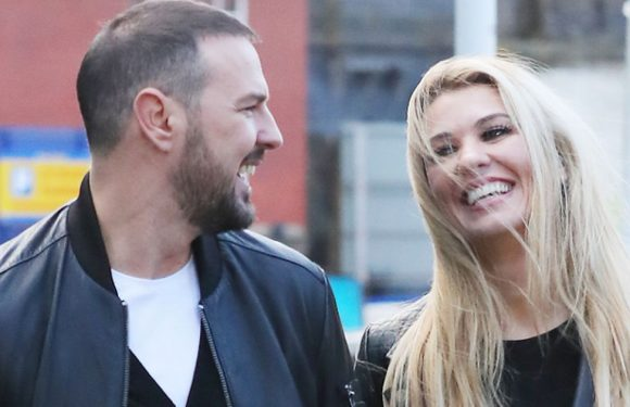 Paddy McGuinness and wife Christine are all smiles after Nicole Appleton drama