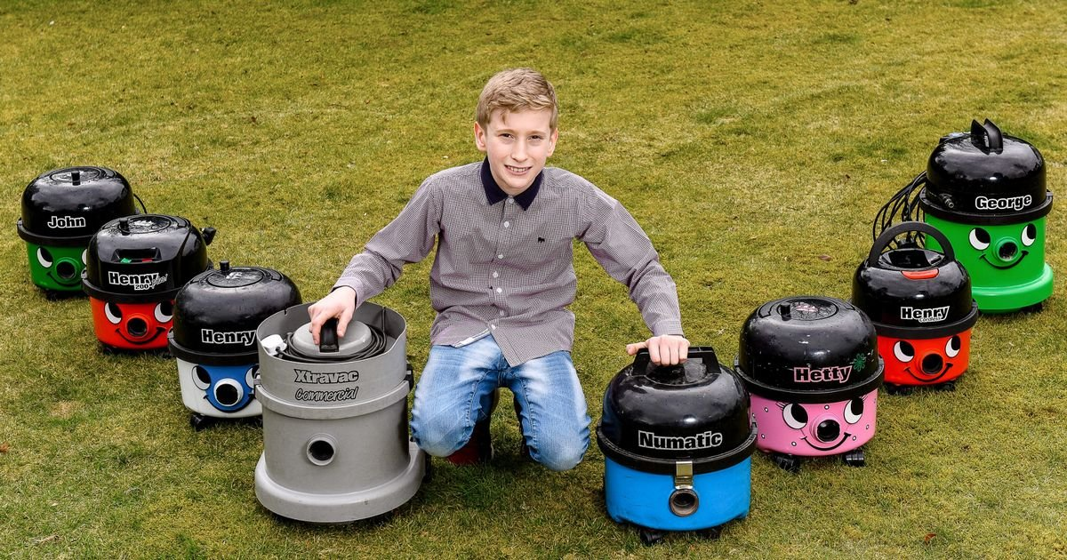 Boy, 13, makes thousands fixing broken £5 vacuum cleaners to sell on for £50