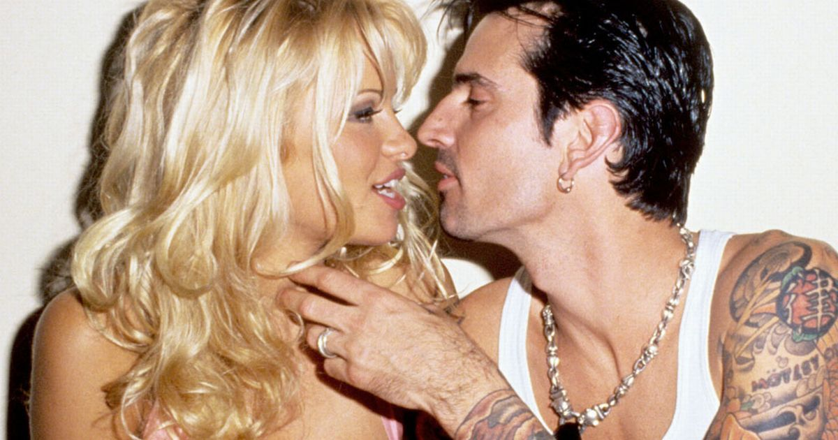 Pam anderson tommylee video