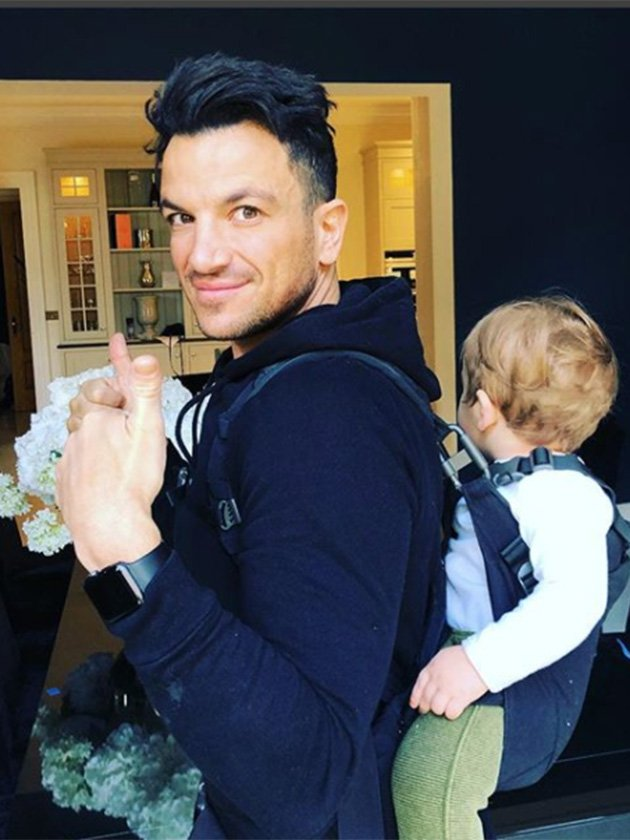 Emily and Peter Andre just revealed THE CUTEST thing about son Theo