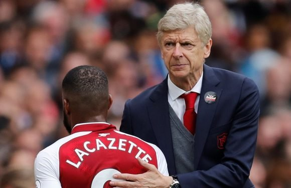 Wenger finally reveals the two reasons why he always subs Lacazette
