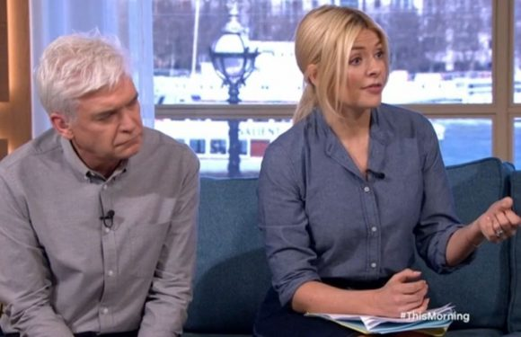 This Morning guests flaunt enormous boob implants – and Phil feels very awkward