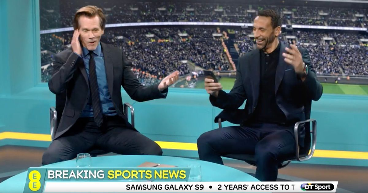 Rio Ferdinand and David Luiz team up with Kevin Bacon for brilliant new advert