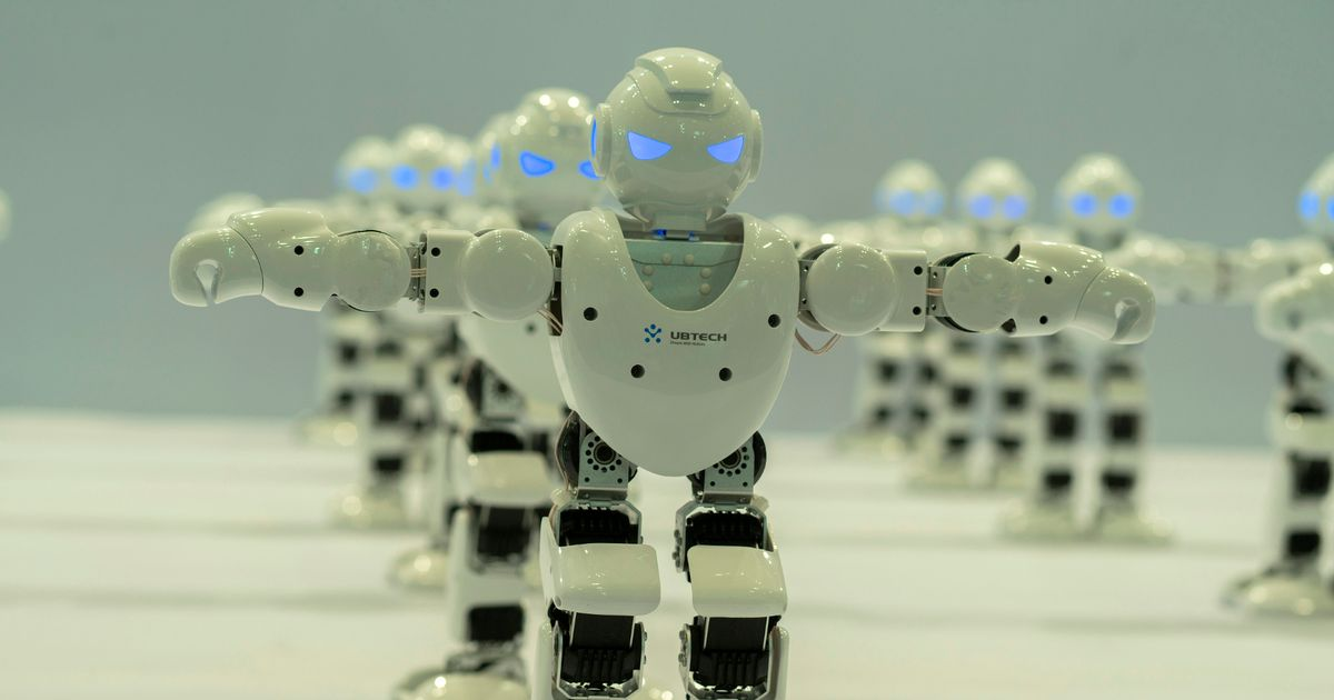 "Robots with strength of 500 men will become ""4th emergency service"" in 50 years"