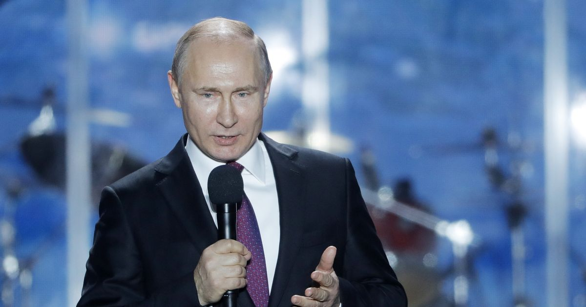Putin says Russia is going to launch a mission to Mars next year