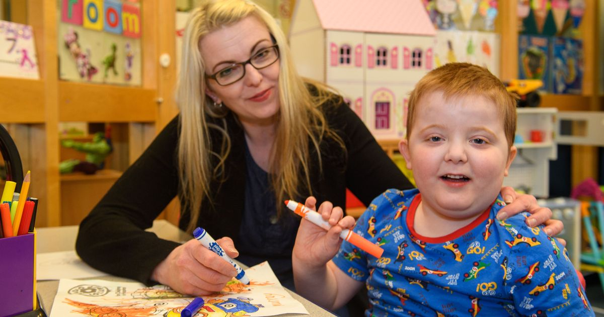 'Helpless' mum says cannabis oil is the only thing that helps her son's seizures