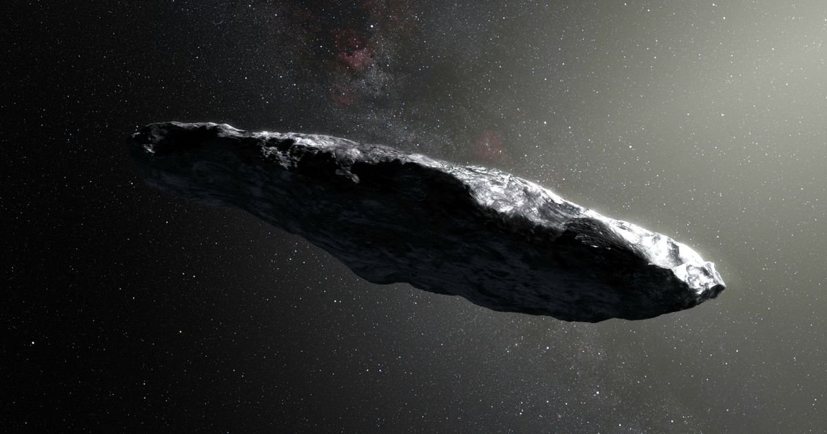 Scientists have worked out where alien asteroid Oumuamua came from