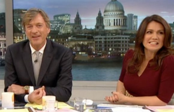 Susanna Reid 'distracted' by incredibly raunchy pics that make GMB hosts squirm