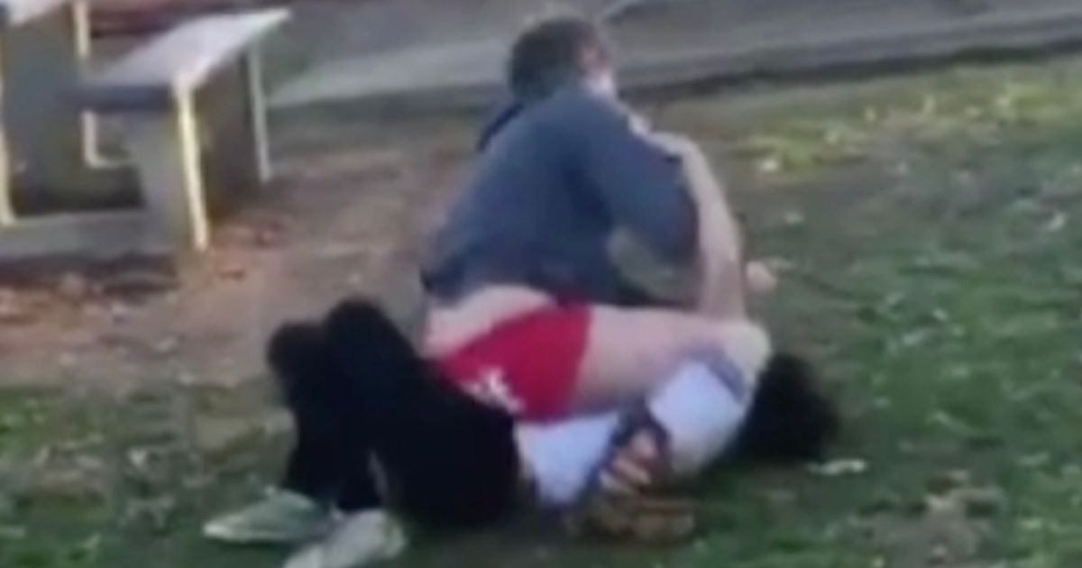 Brutal mum encourages daughter, 15, to batter classmate in playground brawl