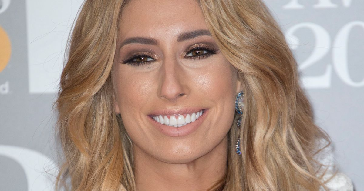 Stacey Solomon outraged as she's offered Botox by beautician while having facial