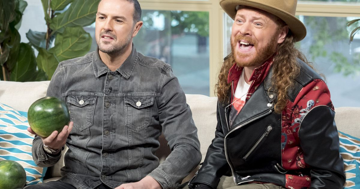Check out Keith Lemon and Paddy McGuinness' erotic Pretty Woman bath scene