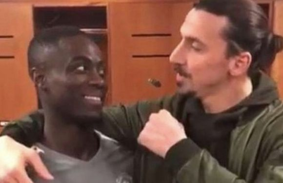 Zlatan Ibrahimovic returns to Manchester United….and threatens Eric Bailly