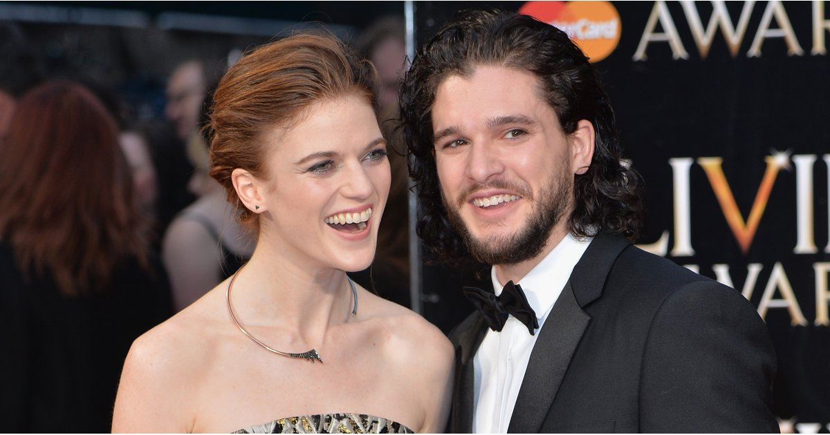 The Hilarious Way Rose Leslie Stops Kit Harington From Spoiling Game of Thrones' Final Season