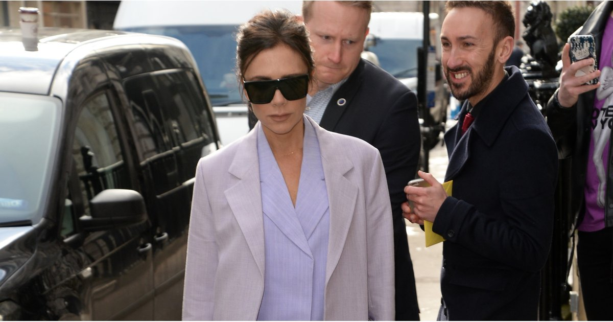 Once You See Victoria Beckham's Suit, It'll Be Hard to Think About Anything Else