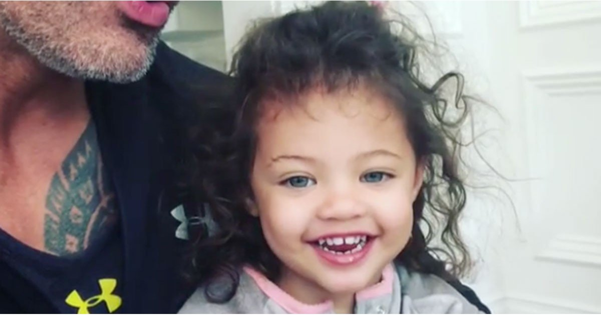 """Dwayne Johnson's 2-Year-Old Daughter Schools Him on """"Girl Power"""" in an Adorable Video"""