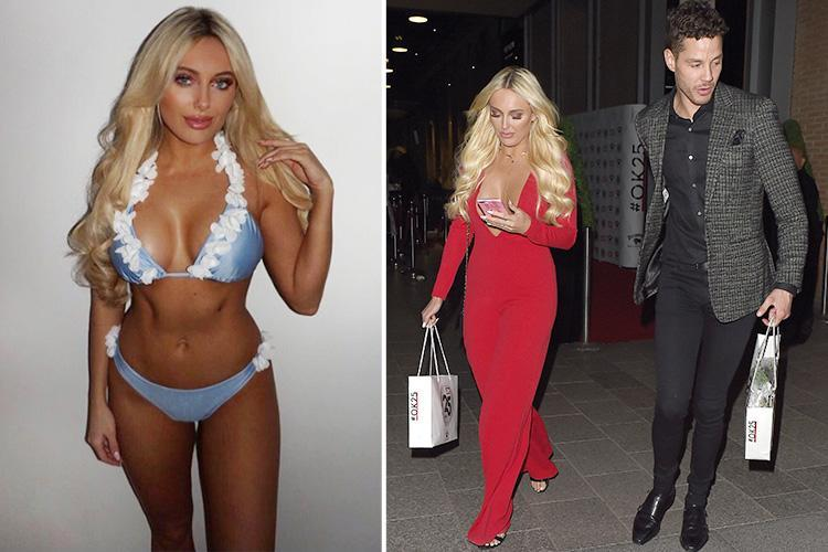 Amber Turner strips to a bikini one day after leaving party with Scott Thomas