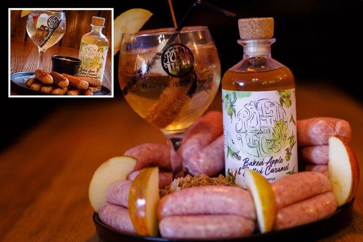 Salted caramel gin sausages are the hangover treat we never asked for… but now can't wait to try