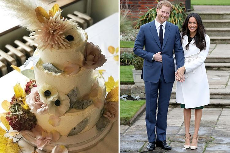 Is this what the Royal wedding cake will look like? Violet Cakes officially chosen by Prince Harry and Meghan Markle for their big day