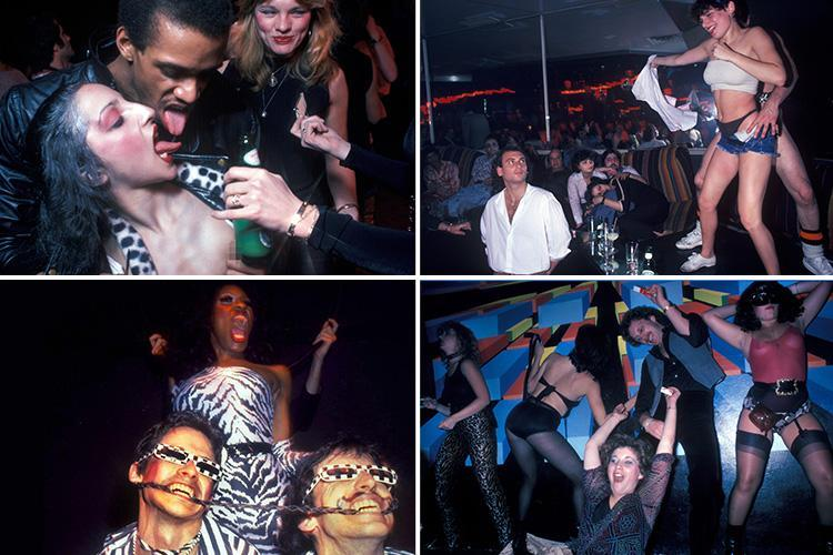 Steamy snaps offer a glimpse back into the golden age of disco as Saturday night revellers get down and dirty on the dance floor