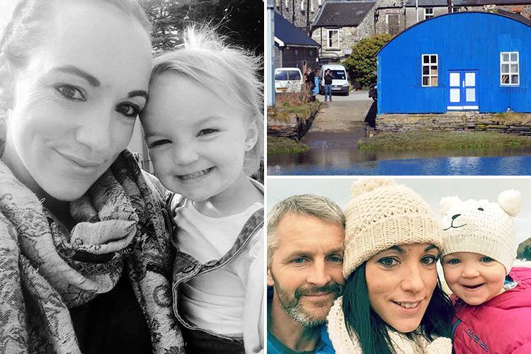 Mum blames her 'stupidity' after Kiara Moore, 2, died when her car rolled into River Teifi in Cardigan after parking on a slipway