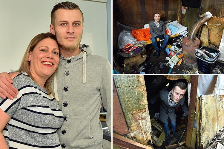 Selfless mum took in homeless man during cold snap – and is now letting him stay