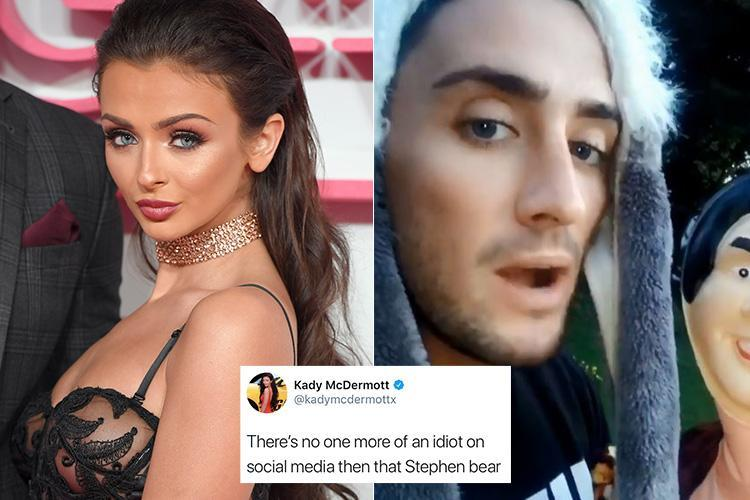 Kady McDermott blasts Stephen Bear for being an 'idiot' over Charlotte Crosby feud