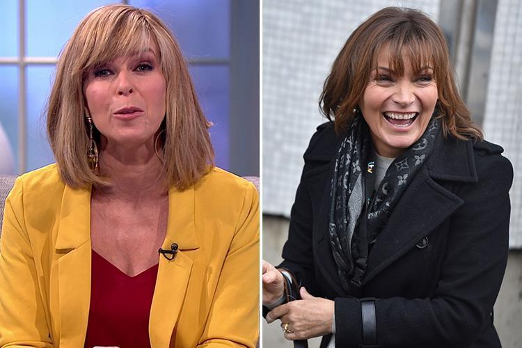 Kate Garraway saves the day after Lorraine Kelly calls in sick for her show