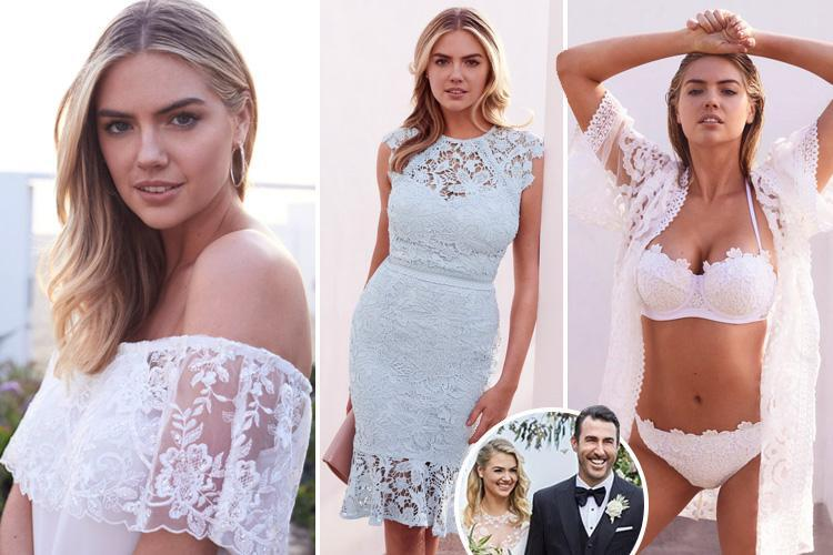 Kate Upton is the new face of Lipsy, and the collection looks heavily inspired by her dreamy wedding