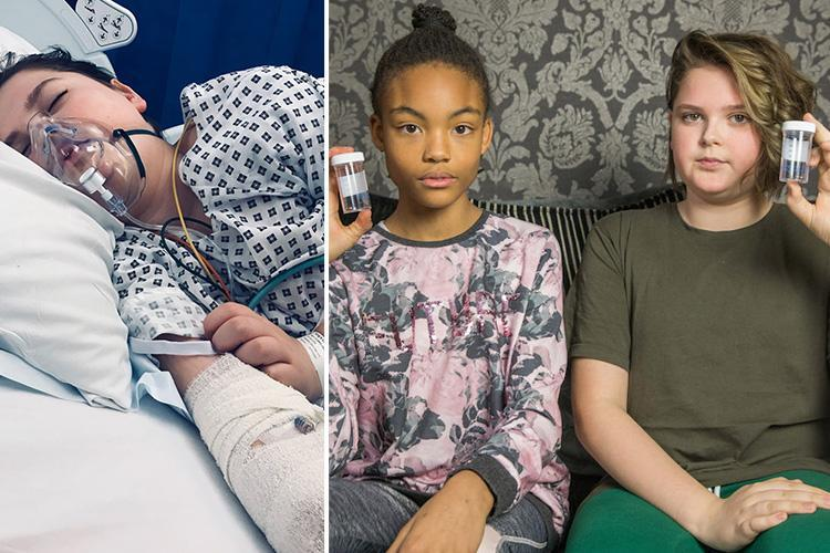 Schoolboy, 13, who swallowed magnetic balls in playground craze had his intestines pulled out through belly button to remove them