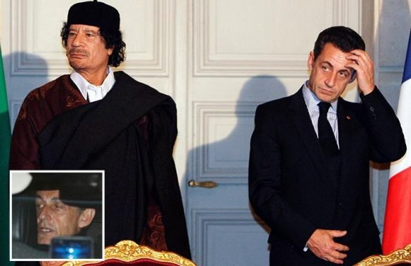 Nicolas Sarkozy could face up to 10 years in prison – as he's charged with taking £43m 'gift' from Gaddafi