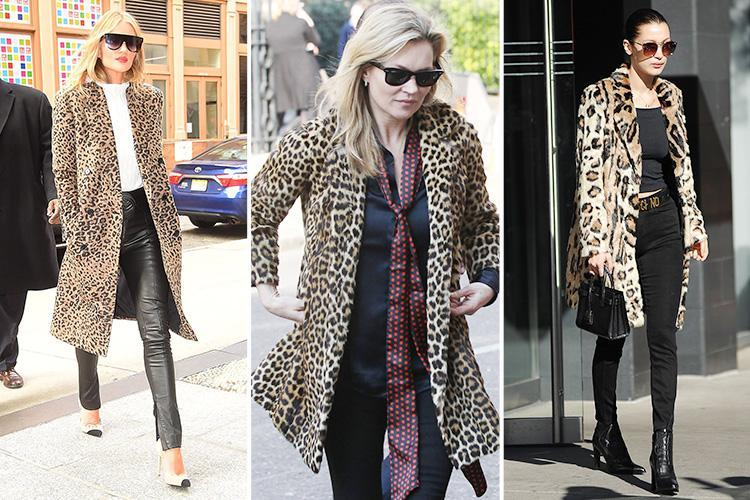 How to wear a leopard-print coat: the bold outwear trend that never gets old