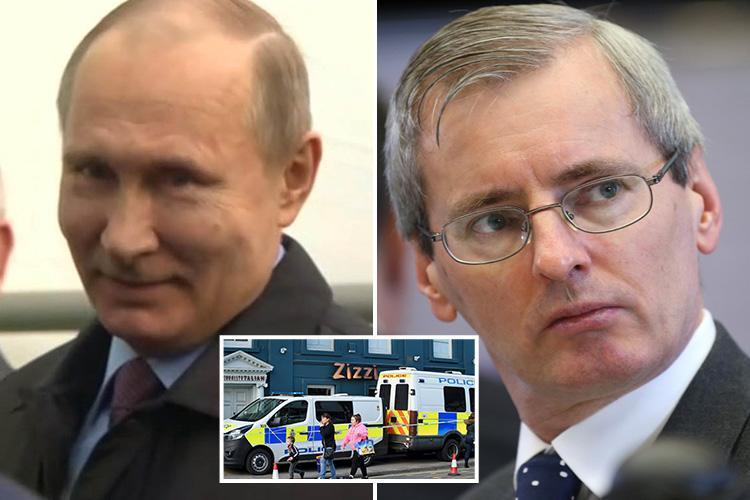 Britain denies ambassador in Moscow was 'summoned to the Kremlin over spy poisoning' insisting he attended a 'pre-planned meeting'
