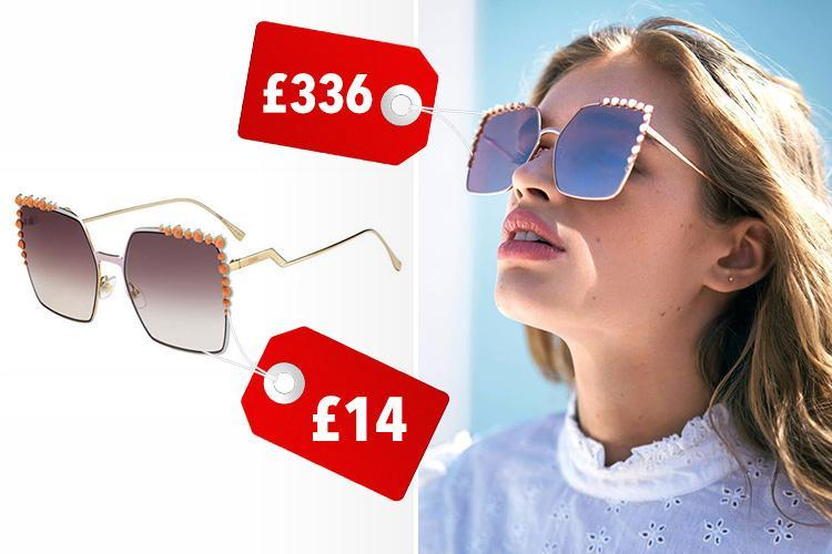 Primark has launched a copy of Fendi's square sunglasses… and they're £332 cheaper