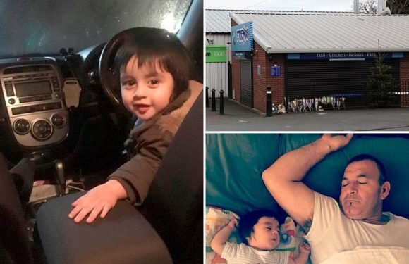 Horrified mum saw 19-month-old son die after dad accidentally ran him over outside chippy