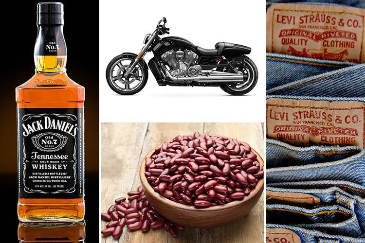 Revealed: Peanut butter, Jack Daniel's, Levi's and lipstick – the full list of EVERYTHING that could face price hikes in EU-US trade war