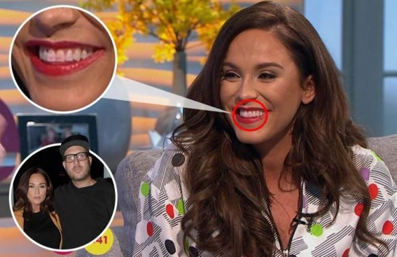 Vicky Pattison hints that having babies with fiance John Noble 'could be happening soon' as she suffers a make-up disaster on Lorraine