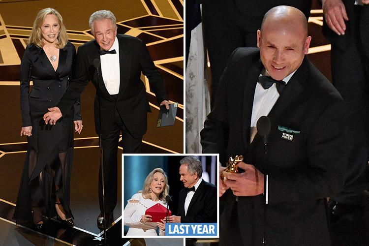 Oscars 2018 suffer yet another Best Picture blunder as Shape Of Water producer is cut off after just TWO words of his speech