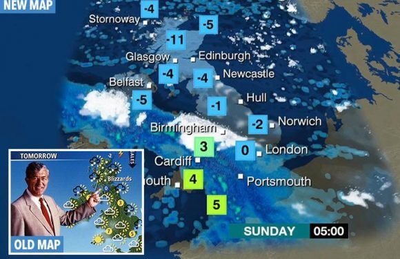 Weatherman blasts BBC for showing too much of Europe on new forecast map