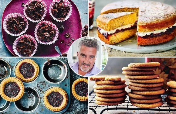 Great British Bake Off star Paul Hollywood shares tasty Easter recipes