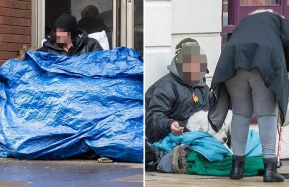 'Homeless' beggars earning £200-A-DAY in posh town