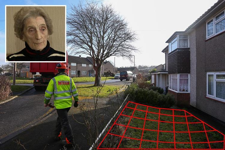 OAP, 97, refuses to give up 6ft of her front garden to developer – 'even if they offer £100,000'